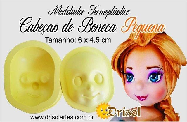 Modelador Termoplástico Cabeça de Boneca nº02 (pequena) - cód  TM11 162cab6c75