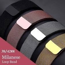 Pulseira Apple Watch Milanese 38mm 40mm Metal Aço - Mercado.13