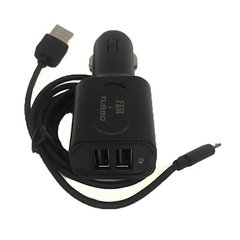 Kit Carregador Fast Charge + Cabo Usb V8 Veicular 2usb Turbo - Mercado.13