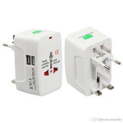 Adaptador Universal de tomada Internacional All-in-One