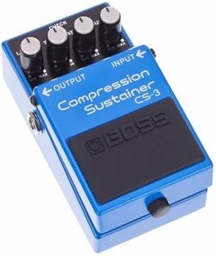 Pedal De Efecto Boss Cs-3 Copression Sustainer Para Guitarra - comprar online