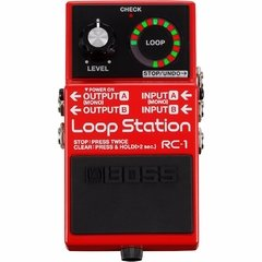 Pedal Boss Loop Station Rc-1 12 Minutos De Grabacion - La Rockola