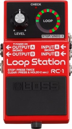 Pedal Boss Loop Station Rc-1 12 Minutos De Grabacion