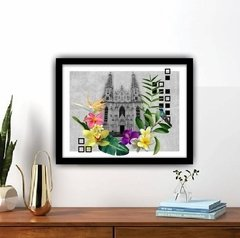 QUADRO CATEDRAL TROPICAL