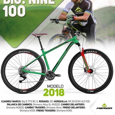 Merida Big Nine 100