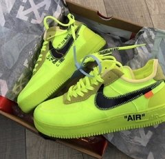 NIKE AIR FORCE OFF/ WHITE - VOLT