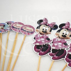 Pinches de cumple Minnie