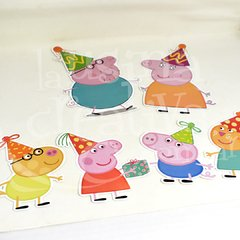 Pinches cumple Peppa Pig