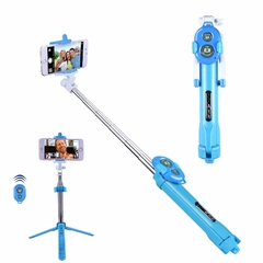 Mini Tripode Palo Baston Selfie Bluetooth Extensible Control