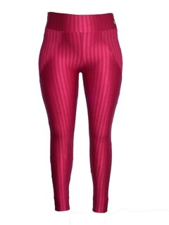Calça Legging Plus Size Side Cut Rosa Clarck