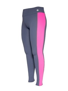 Calça Legging Plus Size Emana Side Strip Marinho Ebony e Debut - comprar online