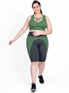Top Plus Size Emana Strappy Agreste - loja online
