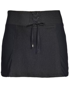 Shorts Saia Plus Size Speed Netz Preto