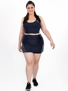 Short Saia Plus Size Light Emana Reflect na internet