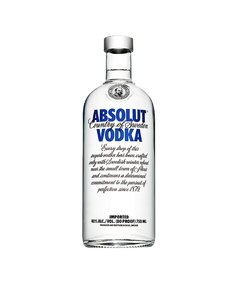 Absolut Blue 750ml