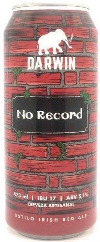 Darwin No Record Irish Red Lata 500ml