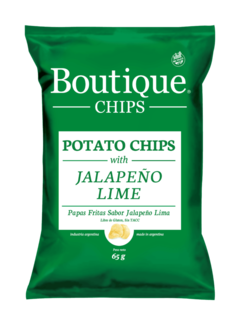 Boutique Chips Jalapeño Lime 65g