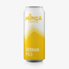 Minga German Pils Lata 473ml