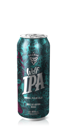 Temple Wolf IPA Lata 500ml