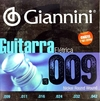 Encordoamento Giannini guitarra niquel 009