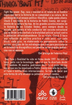 Fight The Power. Rap, Raza y Realidad - Chuck D / Tinta Limón - comprar online