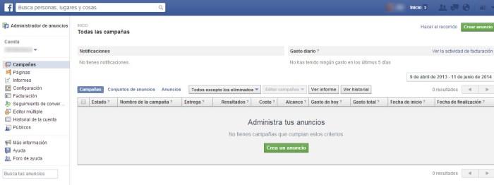 Cómo gestionar tus campañas promocionales de Facebook