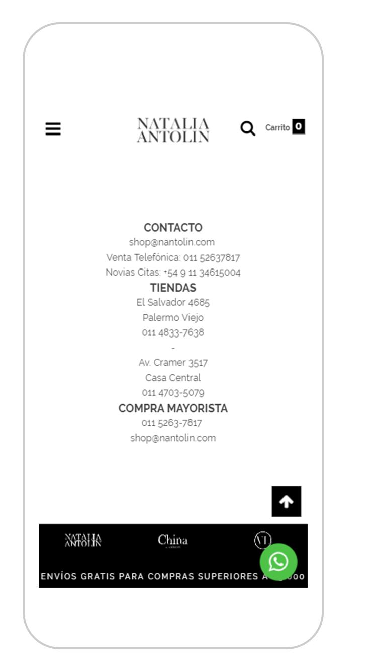 Ejemplo contacto Natalia Antolín