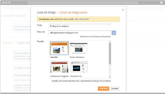Blog en Blogger