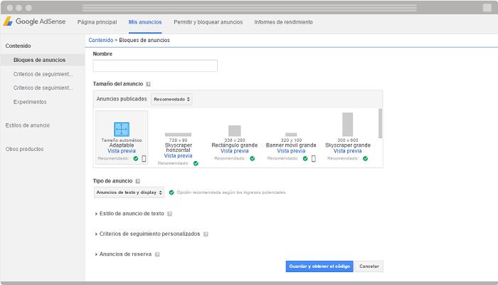 Como usar Google AdSense