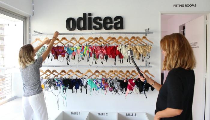 Odisea Swimwear: ¡Mirá cómo se prepara esta tienda para Navidad!