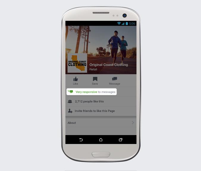 Enviar mensajes de Facebook
