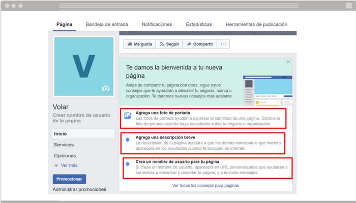 701734415b Cómo crear una página de Facebook para tu tienda online – Blog de ...