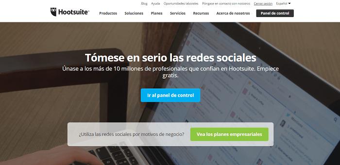 HootSuite, herramienta de publicación en redes sociales