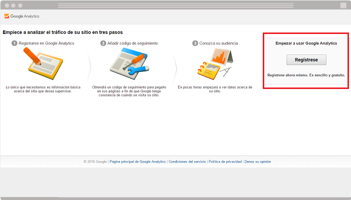 Integrar Google Analytics en blog
