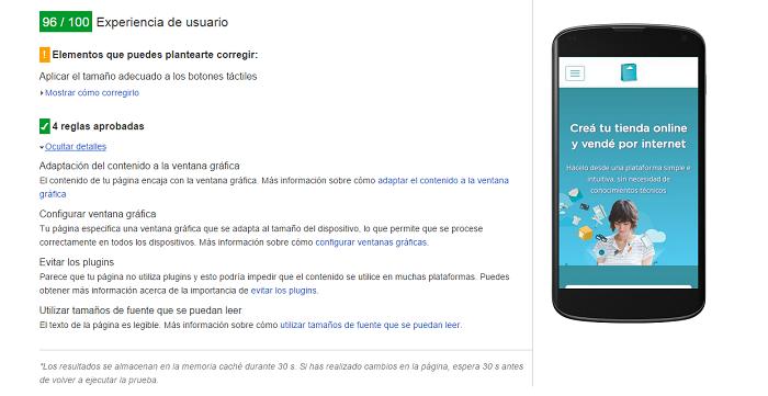 Mejorar la experiencia de usuario con PageSpeed Insights