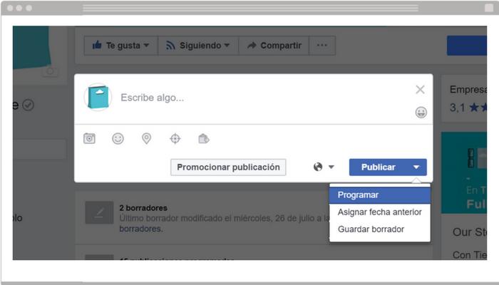 Paso 1 - Facebook