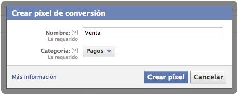 Personalizar tu Pixel de Conversión de Facebook