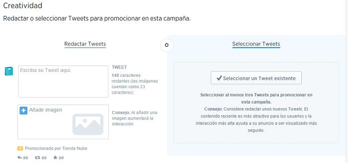 Promocionar tienda online en Twitter