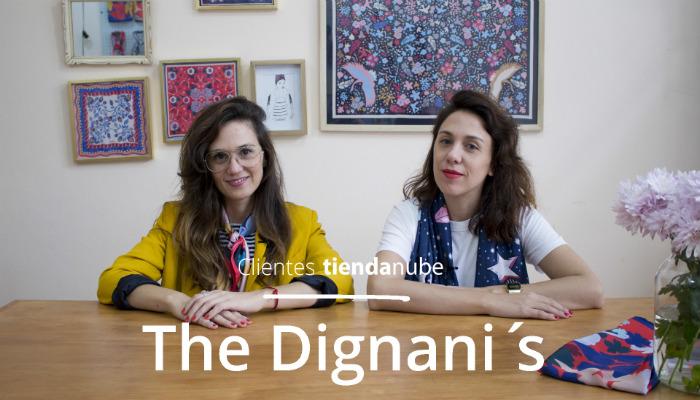 Sol y Zule Dignani en su tienda The Dignani's