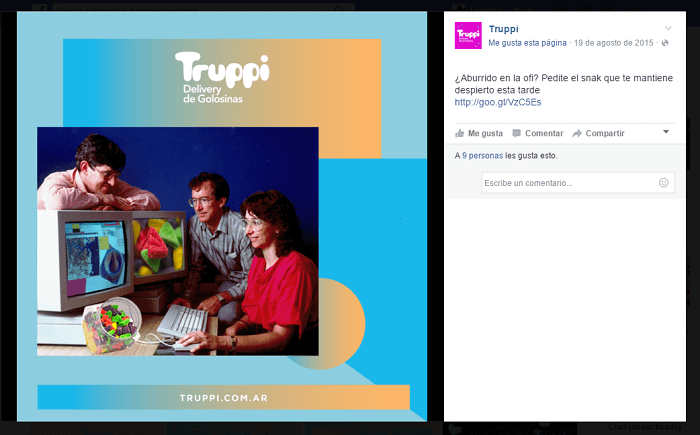 Estrategia de marketing online de Truppi