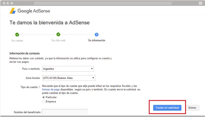 Usar AdSense en un blog