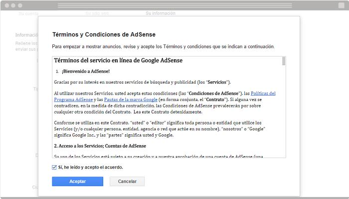 Usar Google AdSense en un blog