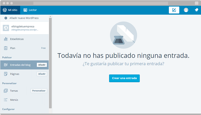 Usar WordPress para blog