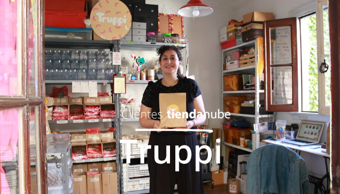 Showroom de Truppi delivery de golosinas