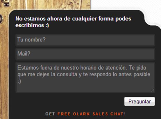 Chat personalizado en tu pagina web