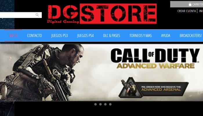 Caso de éxito de la tienda online DG Store