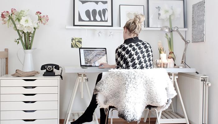 7 formas de organizar mejor la oficina en tu casa