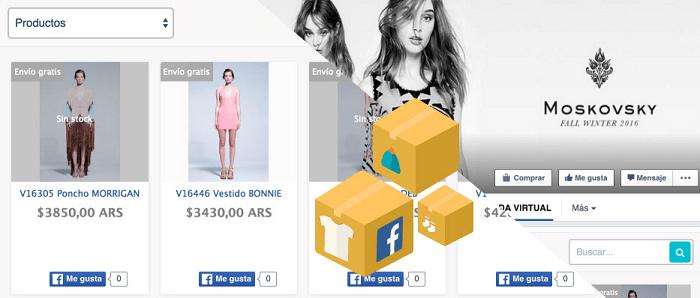 Tienda en Facebook mejorada