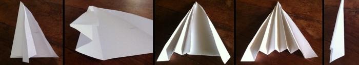 Paso 3 para armar tarjeta navideña con árbol blanco en relieve