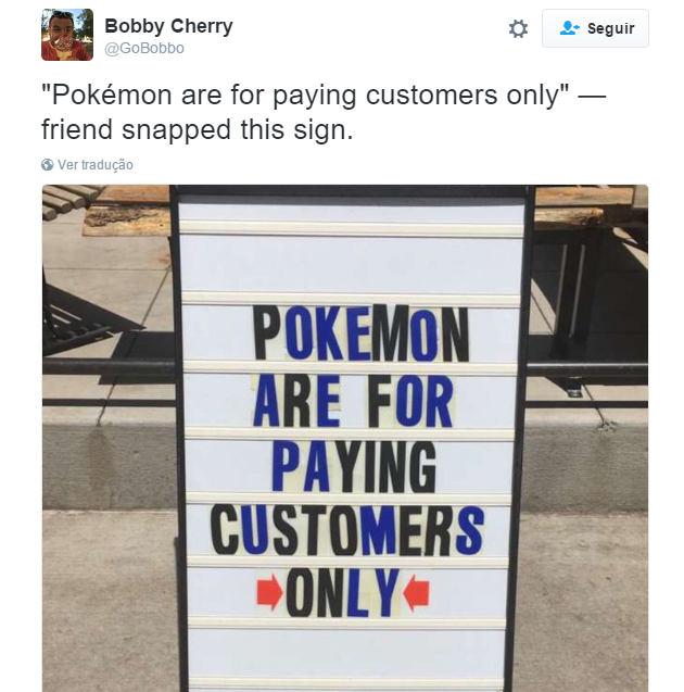 PokeStop cartel